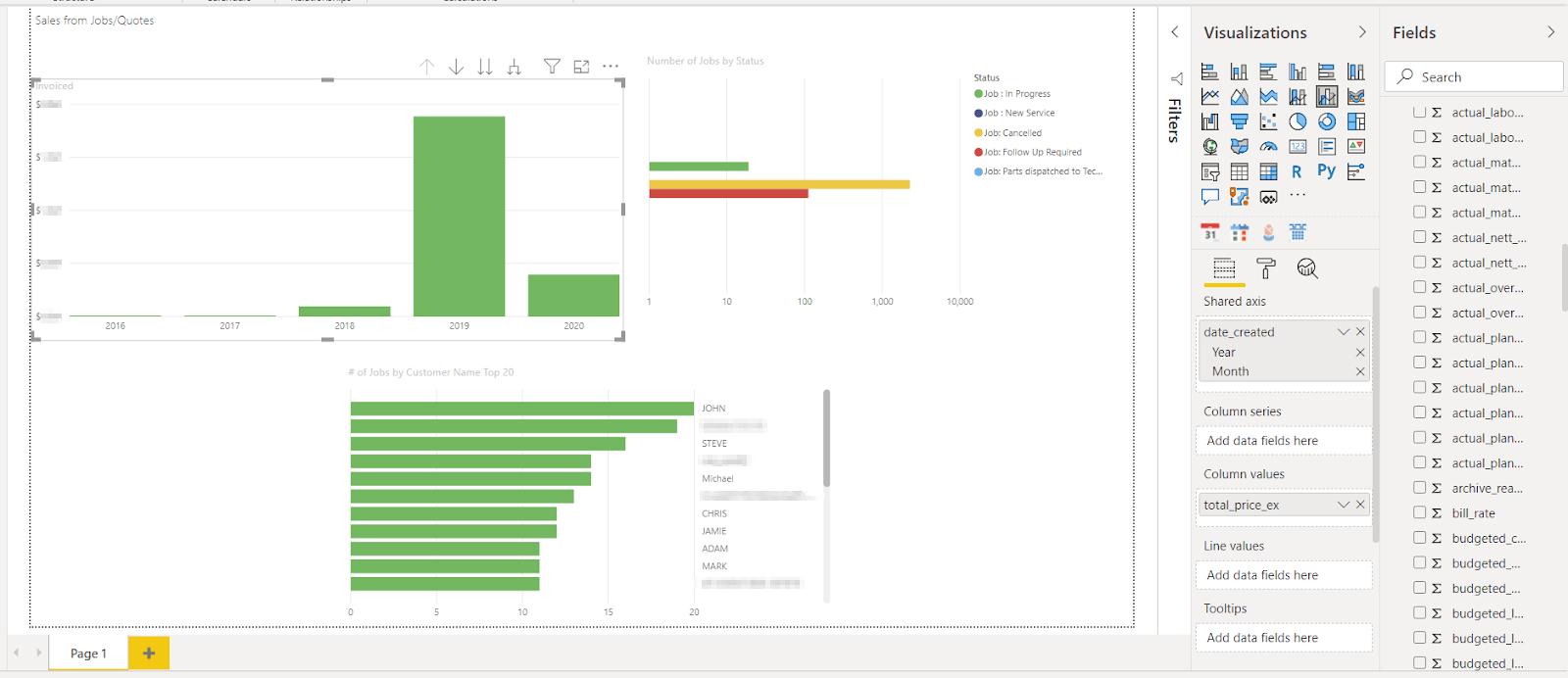 power_bi_simpro_report_builder