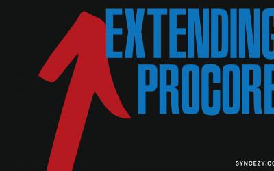 Extending Procore Document Management